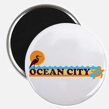Ocean City MD - Beach Design. Magnet