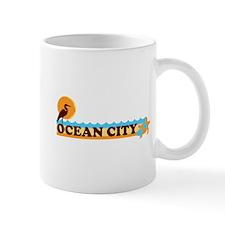 Ocean City MD - Beach Design. Mug