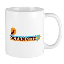Ocean City MD - Beach Design. Mug