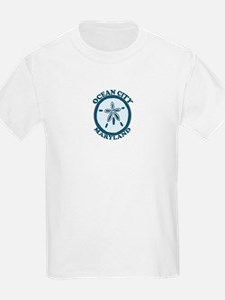Ocean City MD - Sand Dollar Design. T-Shirt