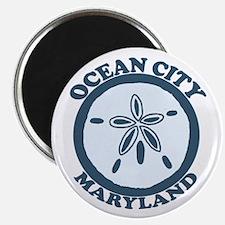 Ocean City MD - Sand Dollar Design. Magnet
