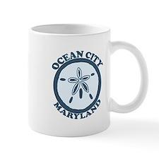 Ocean City MD - Sand Dollar Design. Mug