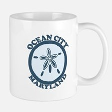 Ocean City MD - Sand Dollar Design. Mug