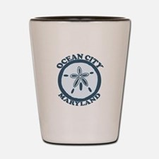 Ocean City MD - Sand Dollar Design. Shot Glass