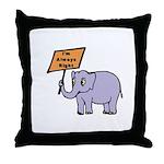 ALWAYS RIGHT Throw Pillow