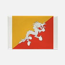 Bhutan Rectangle Magnet