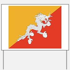 Bhutan Yard Sign