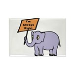 ALWAYS RIGHT Rectangle Magnet (10 pack)