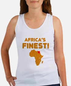 Egypt map Of africa Designs Women's Tank Top