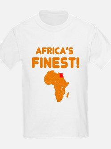 Egypt map Of africa Designs T-Shirt