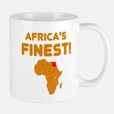 Egypt map Of africa Designs Small Small Mug