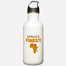 Egypt map Of africa Designs Water Bottle