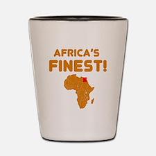 Egypt map Of africa Designs Shot Glass
