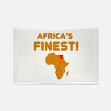 Egypt map Of africa Designs Rectangle Magnet