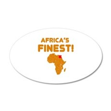 Egypt map Of africa Designs Wall Decal