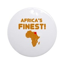 Egypt map Of africa Designs Ornament (Round)