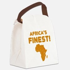 Eritrea map Of africa Designs Canvas Lunch Bag