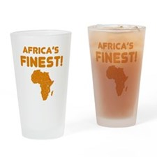 Eritrea map Of africa Designs Drinking Glass