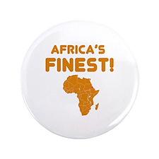 "Eritrea map Of africa Designs 3.5"" Button"