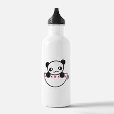 Panda in a Cup Water Bottle