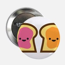 """Peanut Butter Jelly Time 2.25"""" Button"""