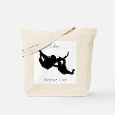 Skydiving  Tote Bag