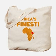 Ethiopia map Of africa Designs Tote Bag