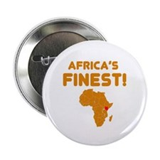 """Kenya map Of africa Designs 2.25"""" Button (10 pack)"""