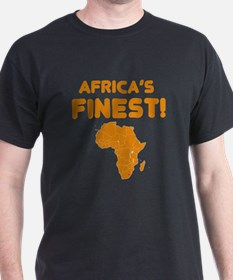 Lesotho map Of africa Designs T-Shirt