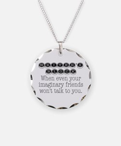 Writers Block Necklace