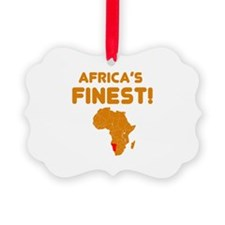 Namibia map Of africa Designs Ornament