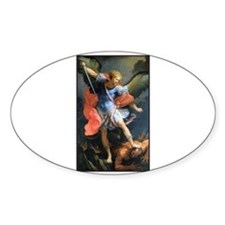 St. Michael the Archangel Rectangle Decal