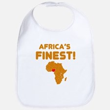 Nigeria map Of africa Designs Bib