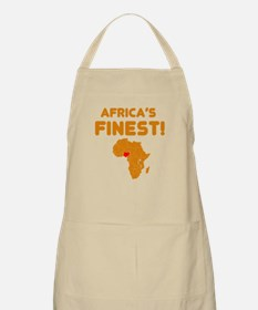 Nigeria map Of africa Designs Apron