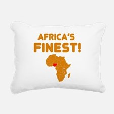 Nigeria map Of africa Designs Rectangular Canvas P