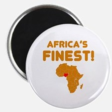 Nigeria map Of africa Designs Magnet