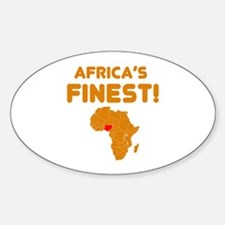 Nigeria map Of africa Designs Decal