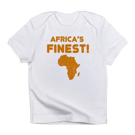Sierra Leone map Of africa Designs Infant T-Shirt