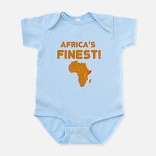 Somalia map Of africa Designs Infant Bodysuit