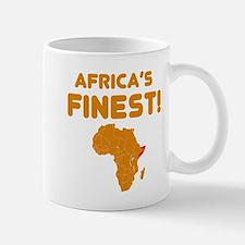 Somalia map Of africa Designs Mug