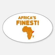 Somalia map Of africa Designs Decal