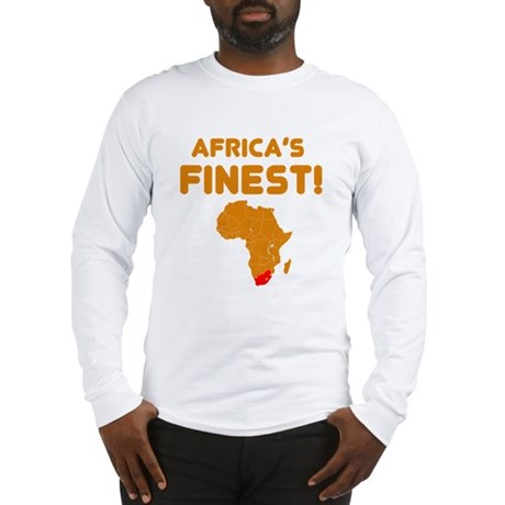 South Africa map Of africa Designs Long Sleeve T-S