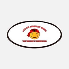 Albanian Smiley Designs Patches