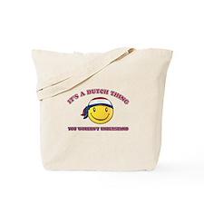 Dutch Smiley Designs Tote Bag