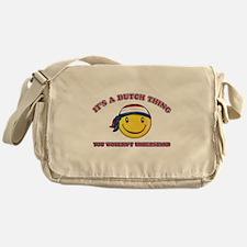 Dutch Smiley Designs Messenger Bag