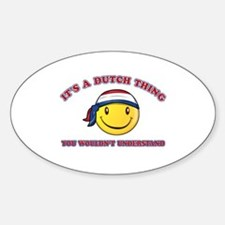 Dutch Smiley Designs Decal