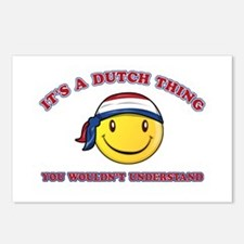 Dutch Smiley Designs Postcards (Package of 8)