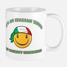 Italian Smiley Designs Mug