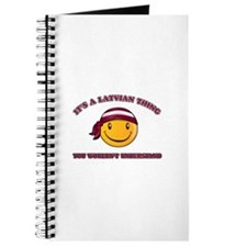 Latvian Smiley Designs Journal