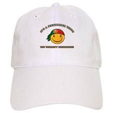 Portuguese Smiley Designs Baseball Cap
